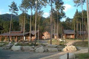 黒木キャンプ場バンガロー